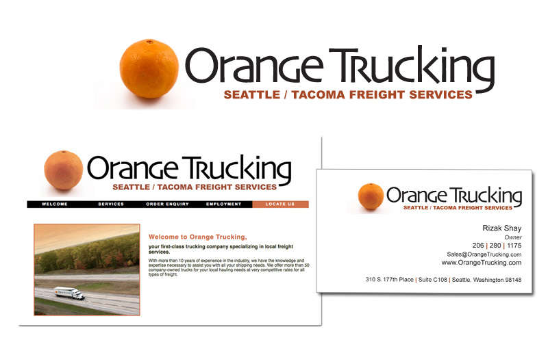 Logo & Branding for Orange Trucking