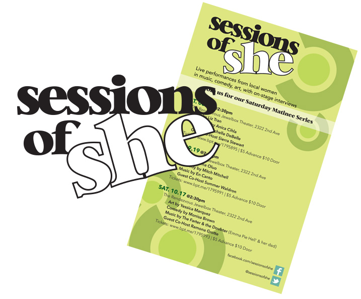 Logo Design for Sessions of She