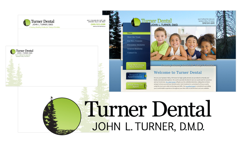 Logo & Branding for Turner Dental