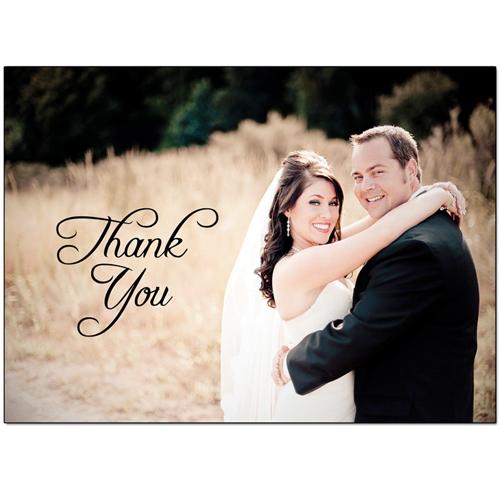 Events Weddings Brittany Hunt Graphic Design Portfolio – Wedding Thank You Card Designs