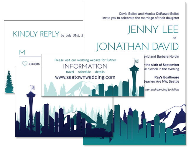 Events Weddings Brittany Hunt Graphic Design Portfolio Seattle