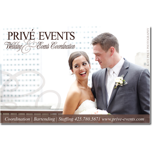 Prive Events Full Color Ad