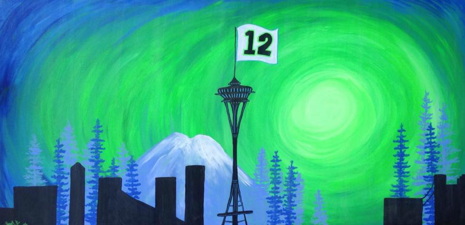 West Seattle Acrylic Painting Seattle